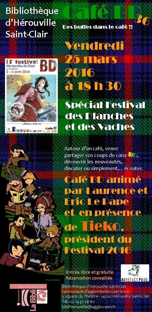 36e café Bande Dessinée Hérouville-Saint-Clair