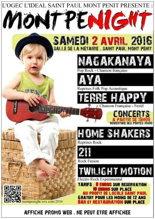 3e édition de Montpenight 2016 Saint-Paul-Mont-Penit