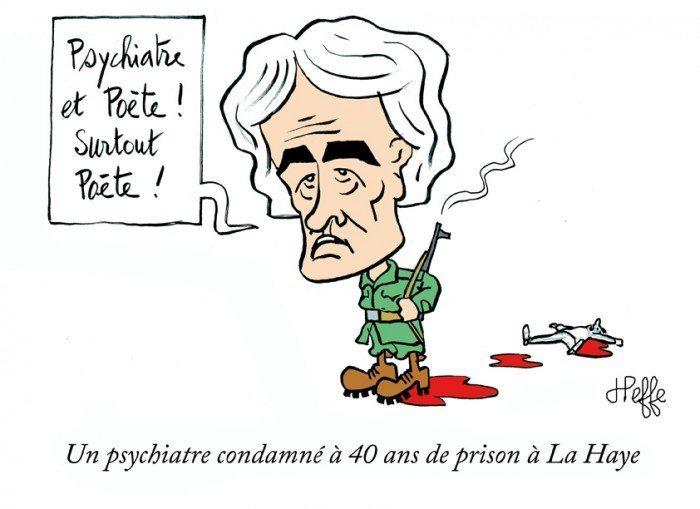 Radovan Karadzic prison
