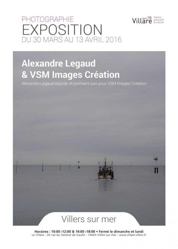 Alexandre expose et premiers pas pour VSM Images création Villers-sur-Mer