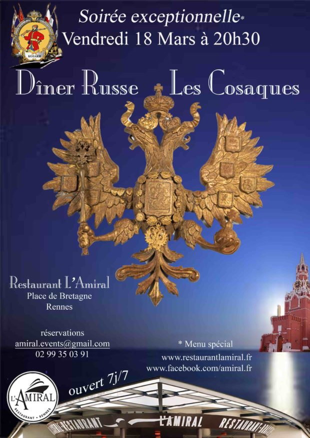 dîner russe