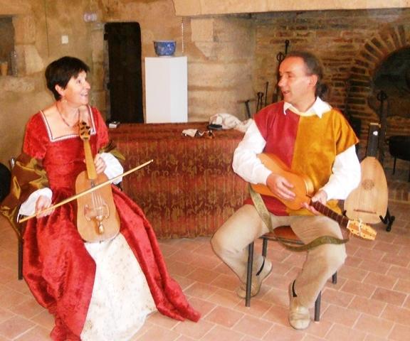 Amour courtois au château Saint-Mesmin
