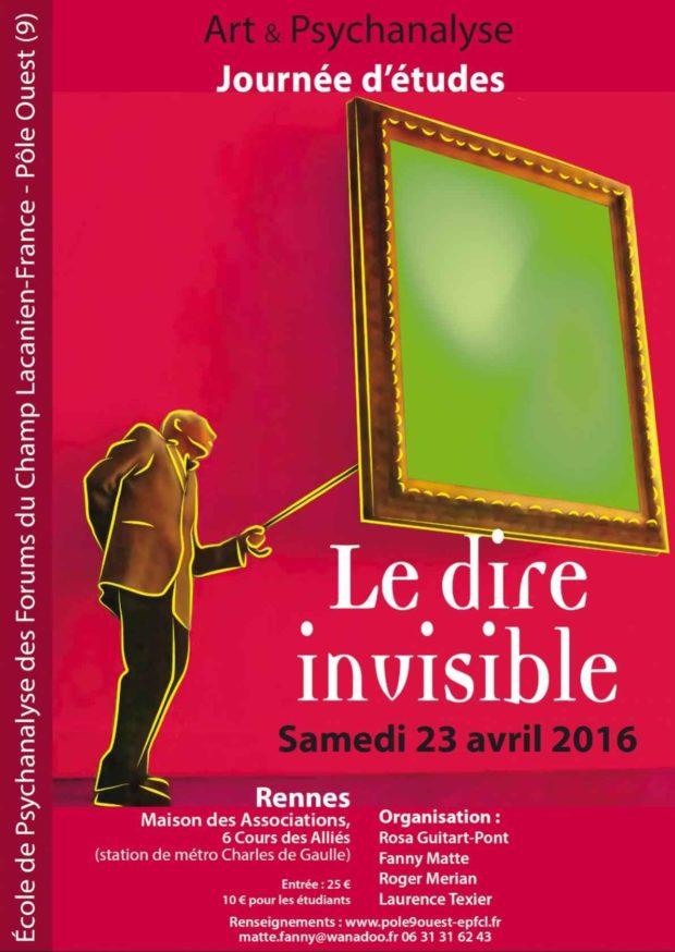 Art et psychanalyse : Le dire invisible