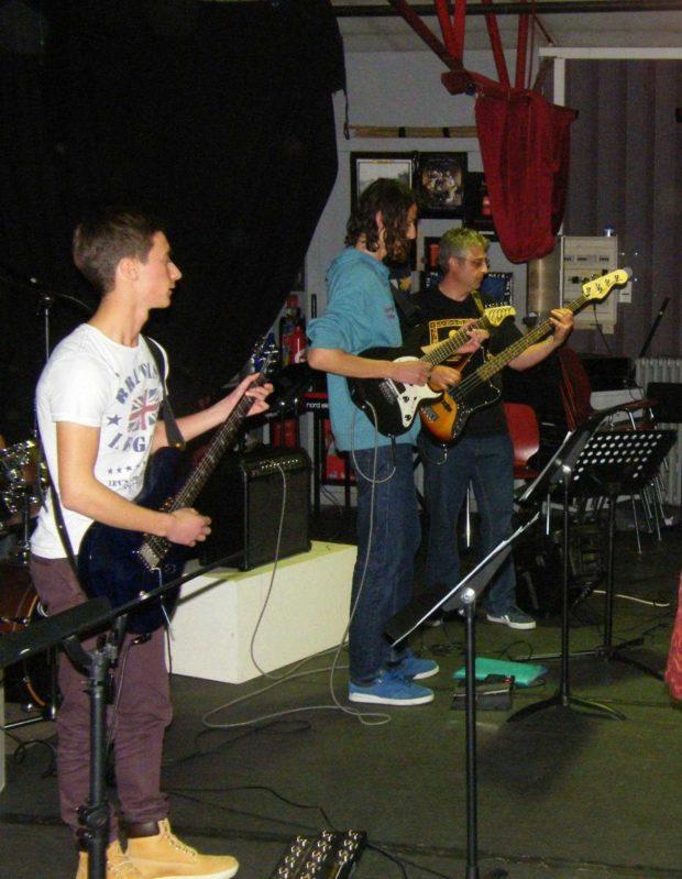 Audition des classes de musiques actuelles Beaumont-Pied-de-Boeuf