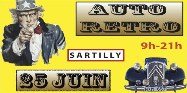 Auto rétro voiture ancienne Sartilly-Baie-Bocage