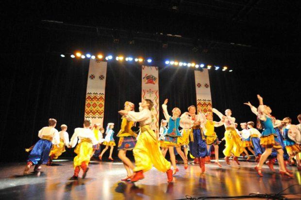 Ballets d'Ukraine avec les Joyeux Petits Souliers Chantonnay