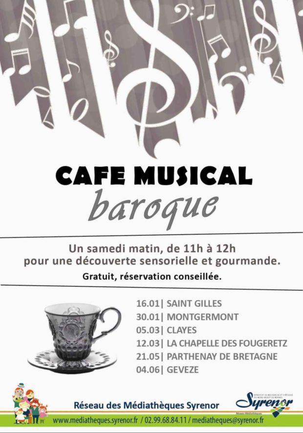 Café musical baroque Gévezé