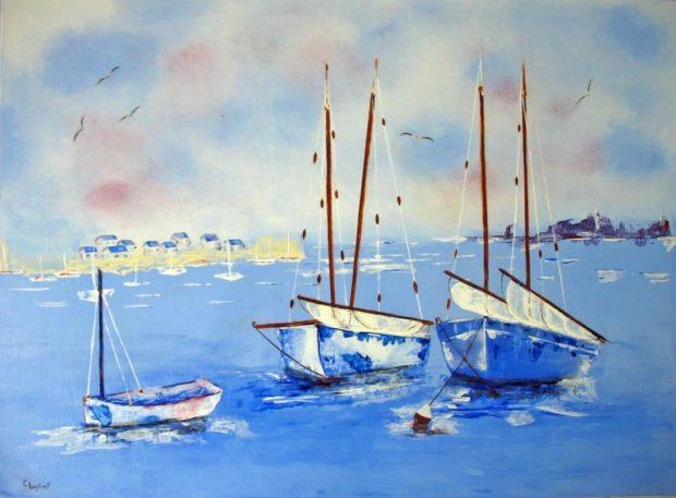 Claudine Lapirot artiste peintre Talmont-Saint-Hilaire