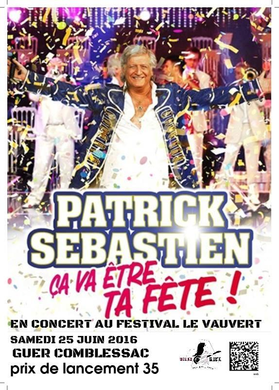 Concert Patrick Sébastien Guer