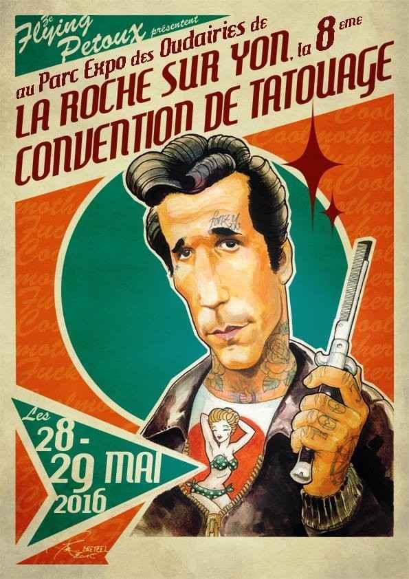 Convention Tattoo de La Roche-sur-Yon La Roche-sur-Yon