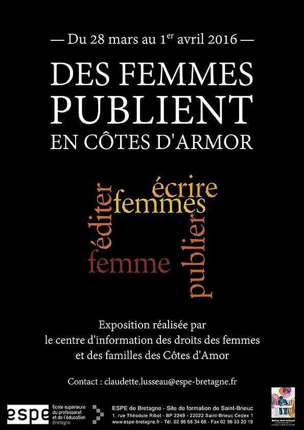 Des femmes publient en Côtes-d'Armor Saint-Brieuc