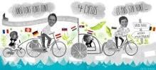 Diaporama, l'Europe en vélo Saint-Laurent-sur-Sèvre