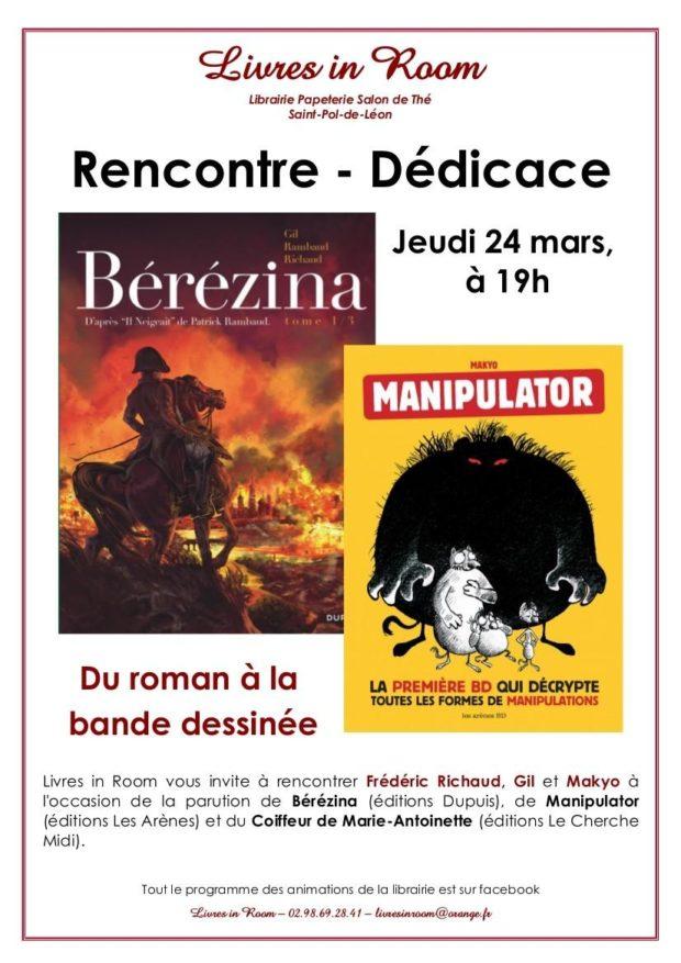 Du roman à la bande dessinée Saint-Pol-de-Léon