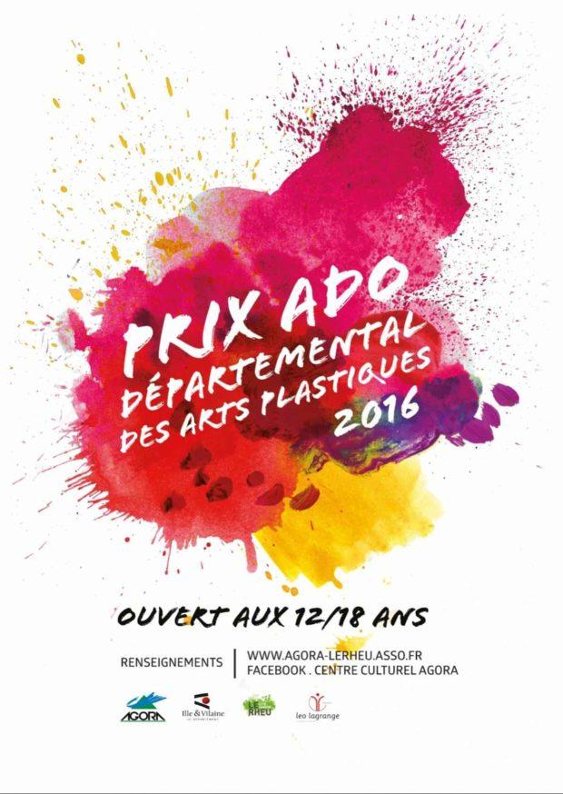 Prix ado départemental des arts plastiques Le Rheu