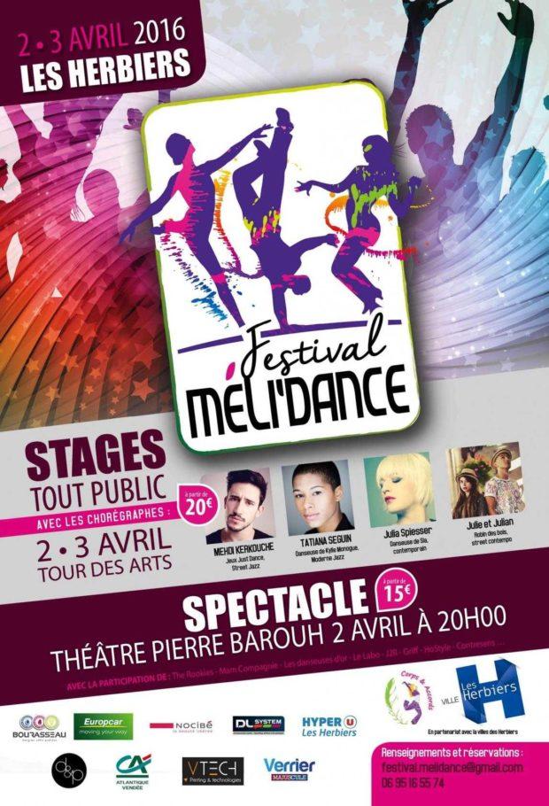Festival Méli'dance IV Les Herbiers