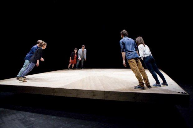 Festival SPRING : Celui qui tombe de Yoann Bourgeois Caen