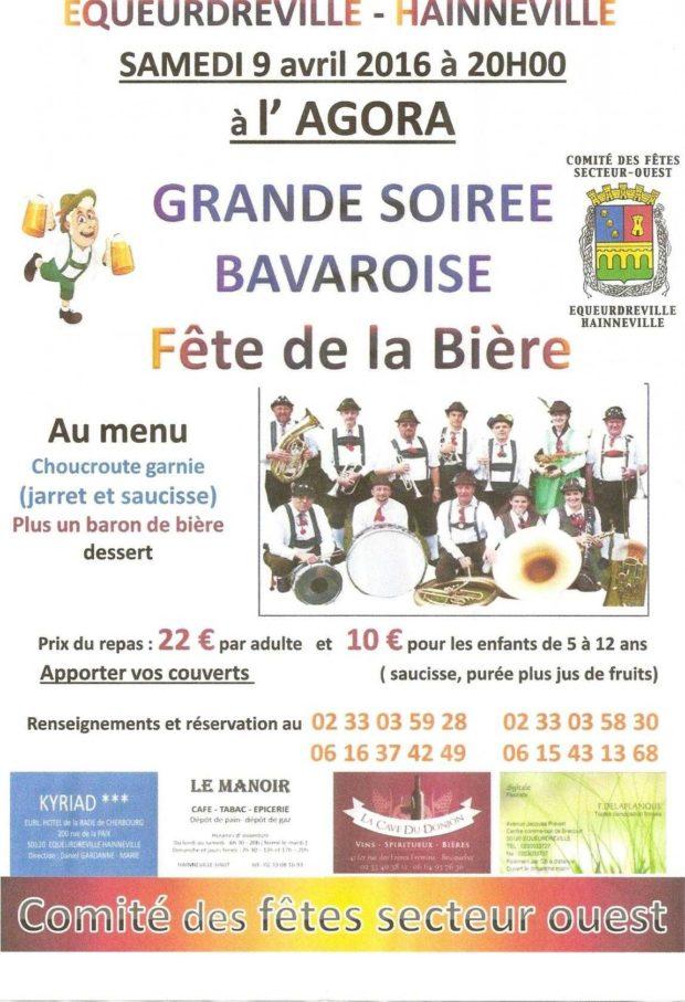 Fête de la bière : soirée bavaroise Cherbourg-en-Cotentin