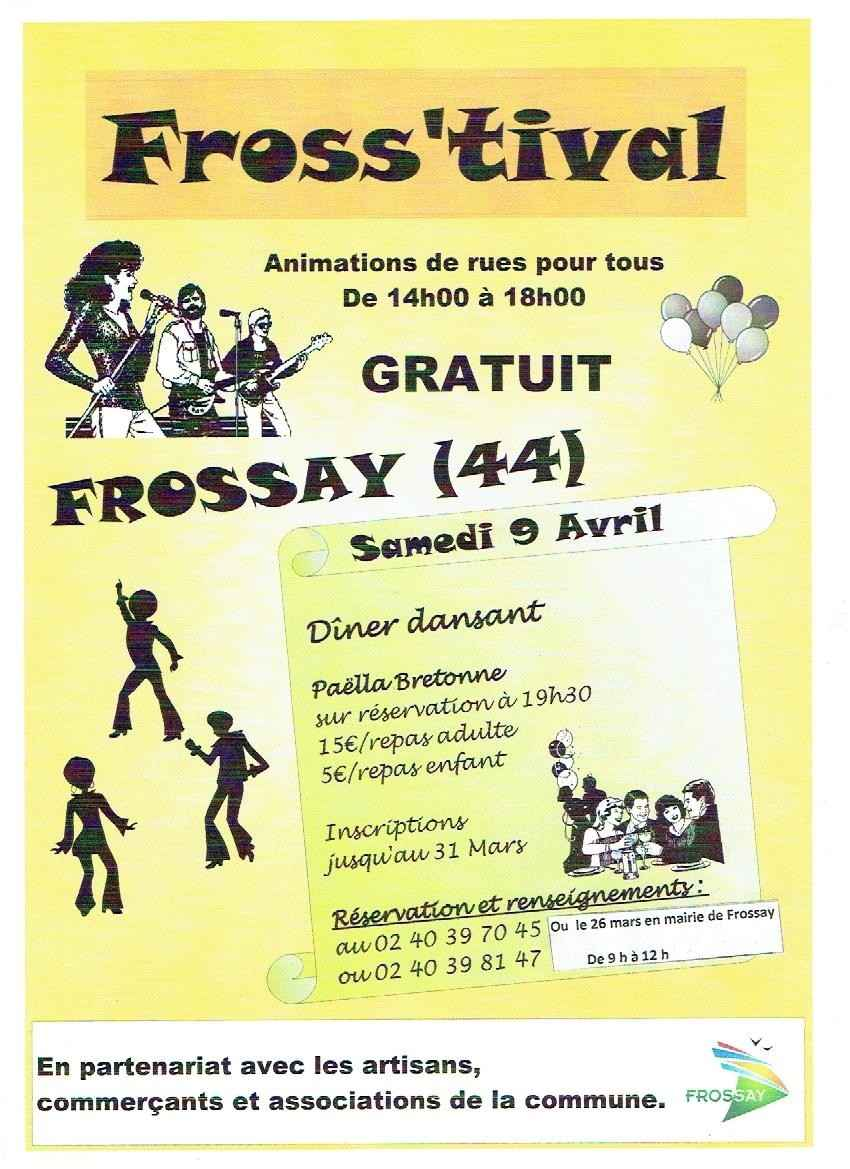Fross'tival, animations de rues Frossay