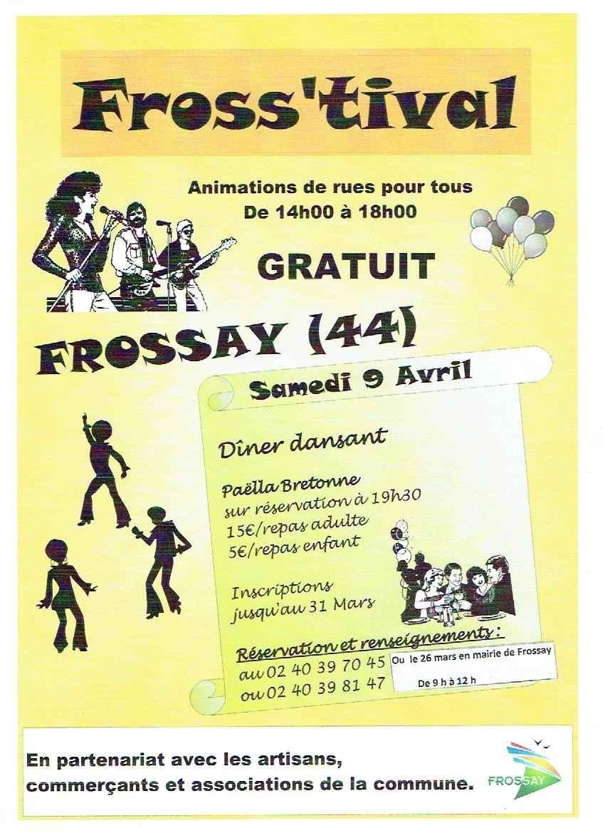 Fross'tival, animations de rues Frossay