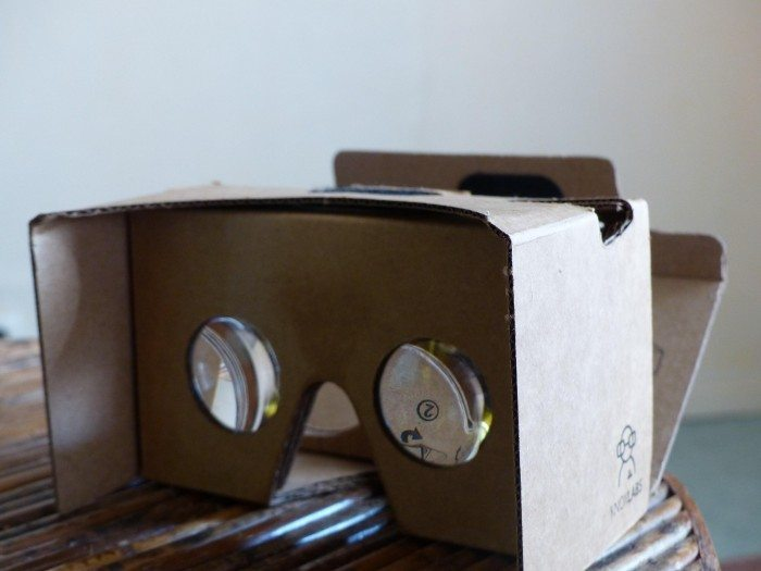 Google Cardboard virtuel