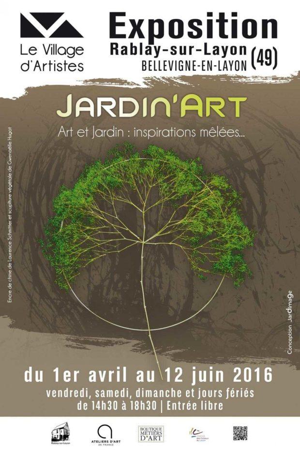 Jardin'Art, inspirations mêlées de trente créateurs. Bellevigne-en-Layon