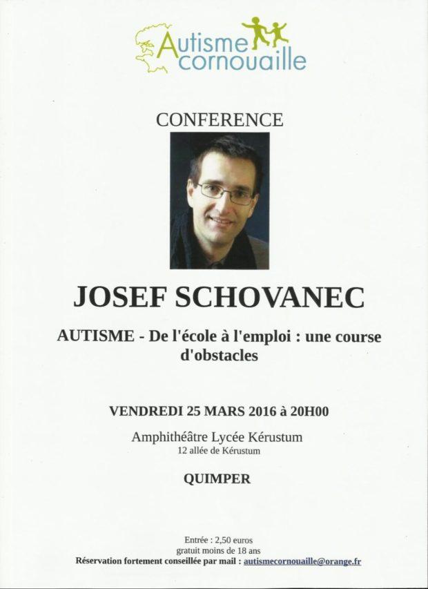 Josef Schovanec autisme Quimper