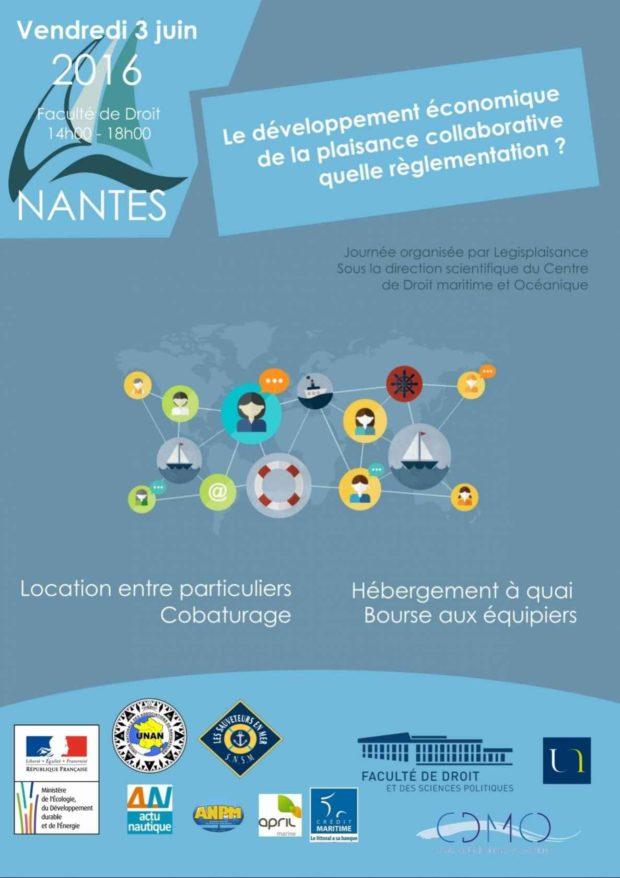 Journée Nationale du droit de la plaisance et du nautisme Nantes