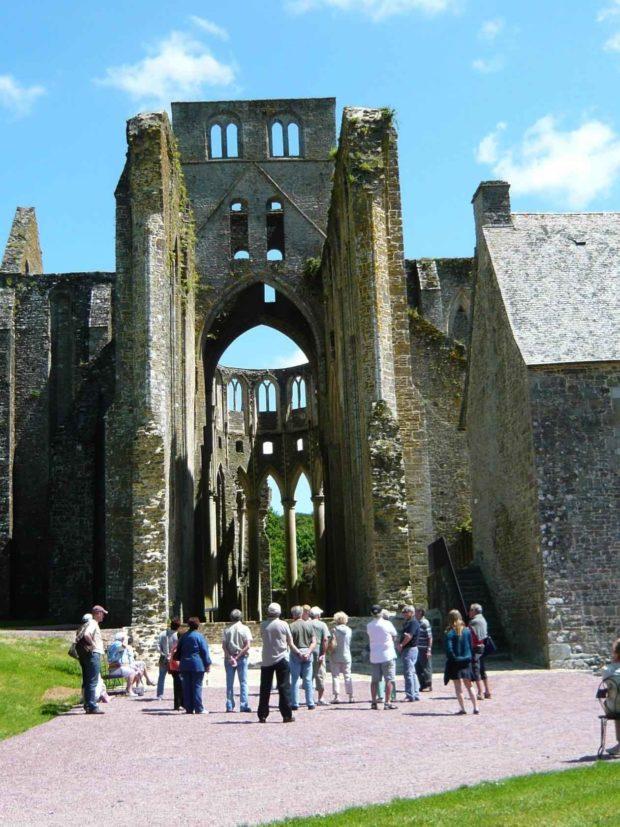 L'abbaye de Hambye et l'Angleterre Hambye