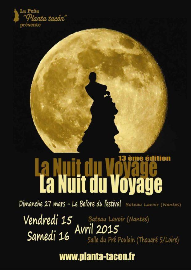 La nuit du voyage, festival flamenco 13e édition Thouaré-sur-Loire