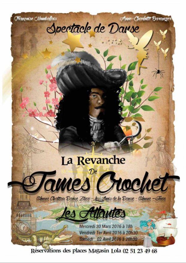La revanche de James Crochet ( jazz, hipi hop, classique... ) Les Sables-d'Olonne