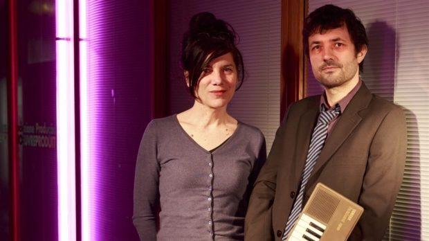 L'amour Ping-Pong. Albin de la Simone et Brigitte Giraud La Roche-sur-Yon