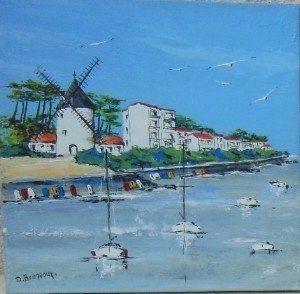 Le littoral et les ports de France par Daniel Bruneaux Talmont-Saint-Hilaire