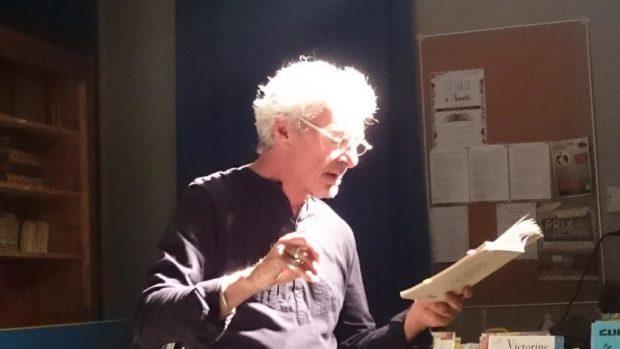 Lecture à voix haute avec Francis Lebrun Cheffois