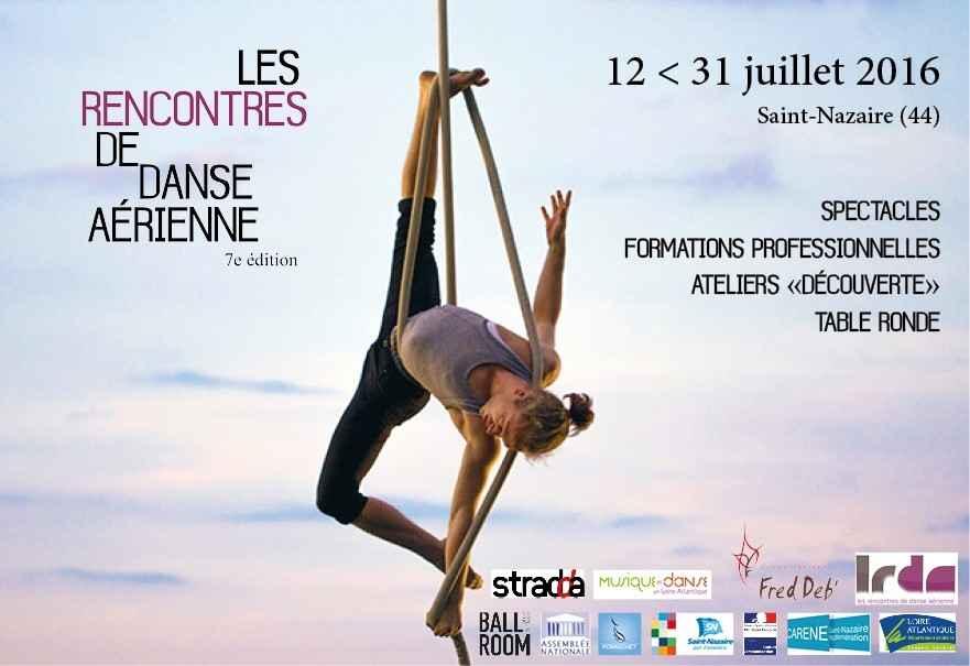 Les rencontres de danse aérienne Saint-Nazaire