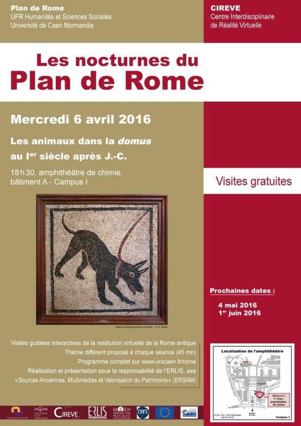 Nocturnes du plan de Rome Caen