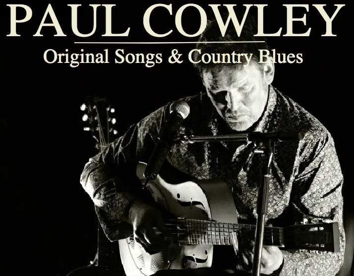 Paul Cowley - bluesman Theix-Noyalo