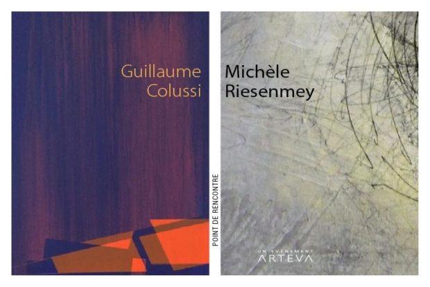 Point de rencontre, Michèle Riesenmey et Guillaume Colussi Rezé