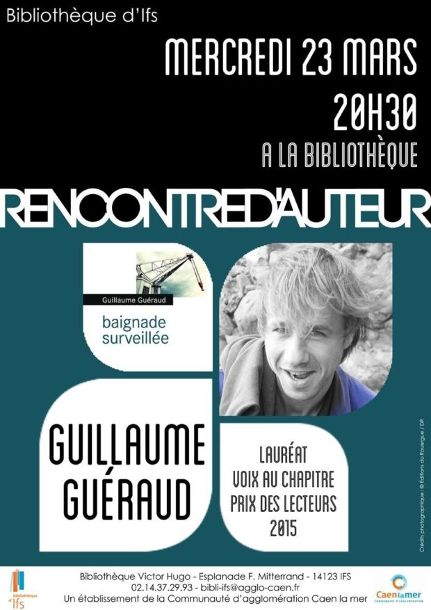 Rencontre avec l'auteur Guillaume Guéraud Ifs