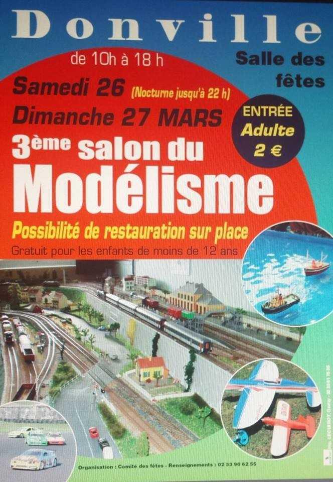 Salon du modélisme Donville-les-Bains