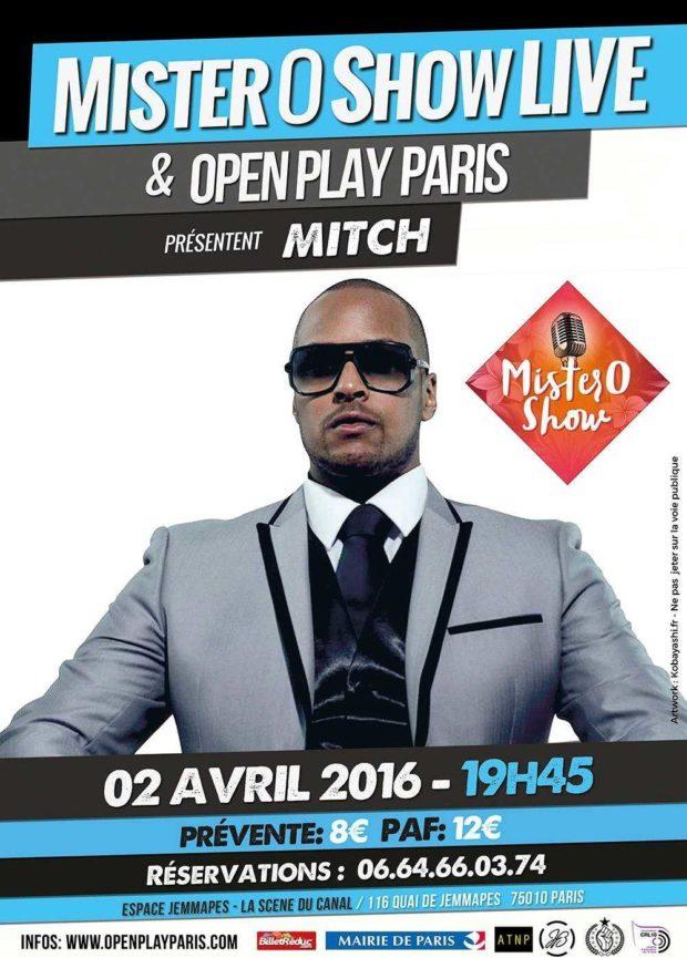 Scène ouverte et itw live Paris