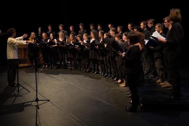 Adieu tristesse, chœur du département de philosophie de Nantes Nantes