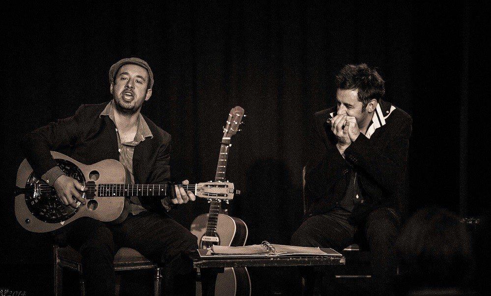 Arnaud Fradin & Thomas Troussier (blues'n'folk) Nantes