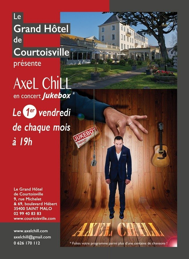 Axel Chill en concert Saint-Malo