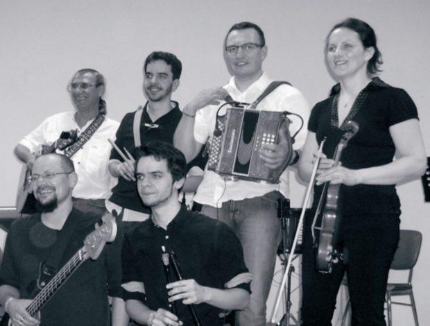 Bal folk avec Damjan Pouancé