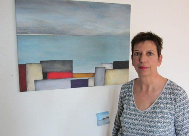 Betty Guzzo, peinture contemporaine Lion-sur-Mer