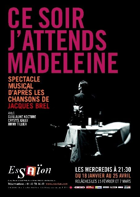 Ce soir j'attends Madeleine Nantes