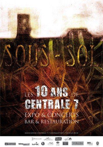 Centrale 7, ateliers d'artistes, fête ses 10 ans Nyoiseau