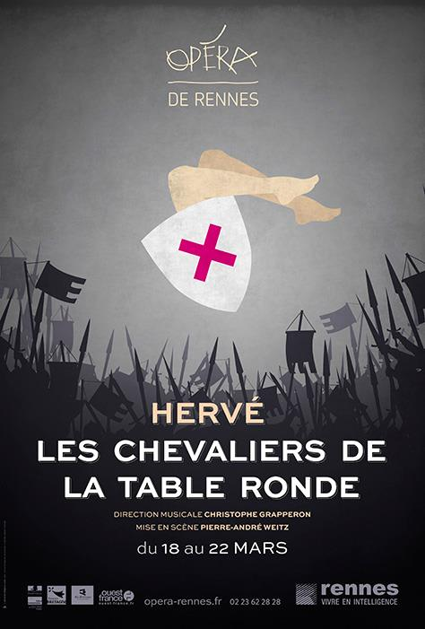 Op ra bouffe les chevaliers de la table ronde d boulent - Noms des chevaliers de la table ronde ...