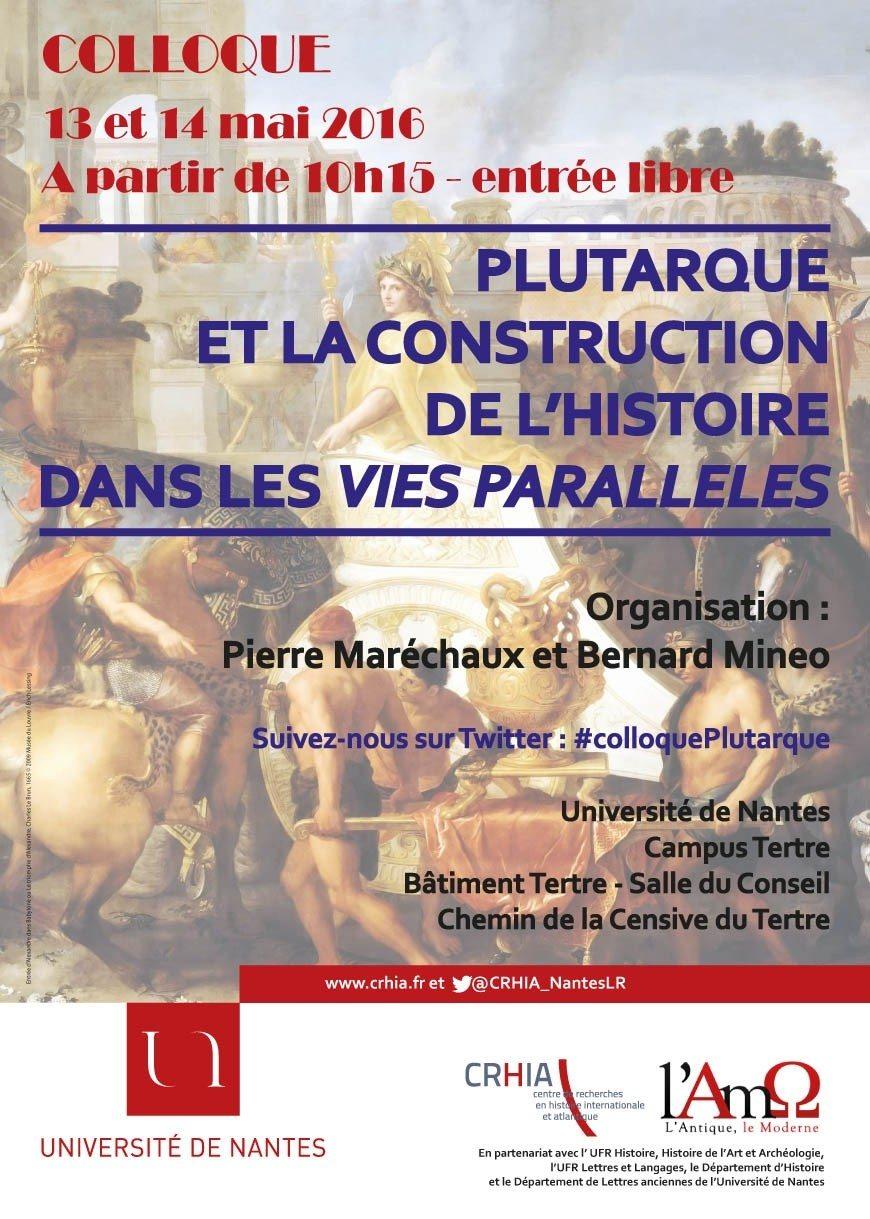 Colloque Plutarque Nantes