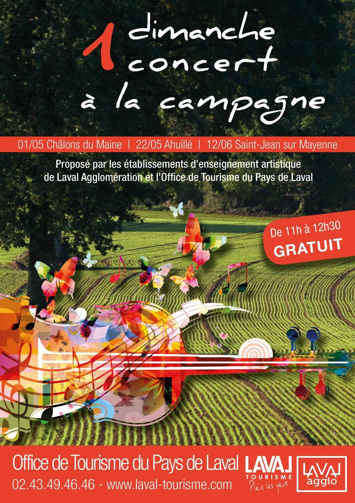 Concert à la halte-fluviale Saint-Jean-sur-Mayenne